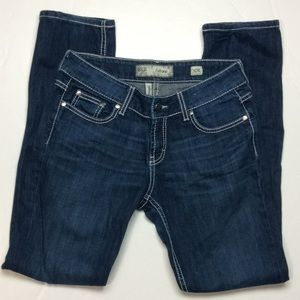 BKE Culture Straight Embellished Ladies Jeans 30R